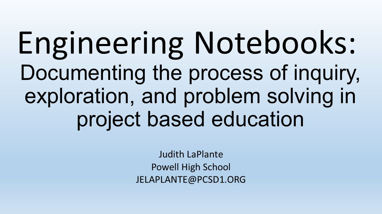 Judith LaPlante Powell High School JELAPLANTE@PCSD1.ORG