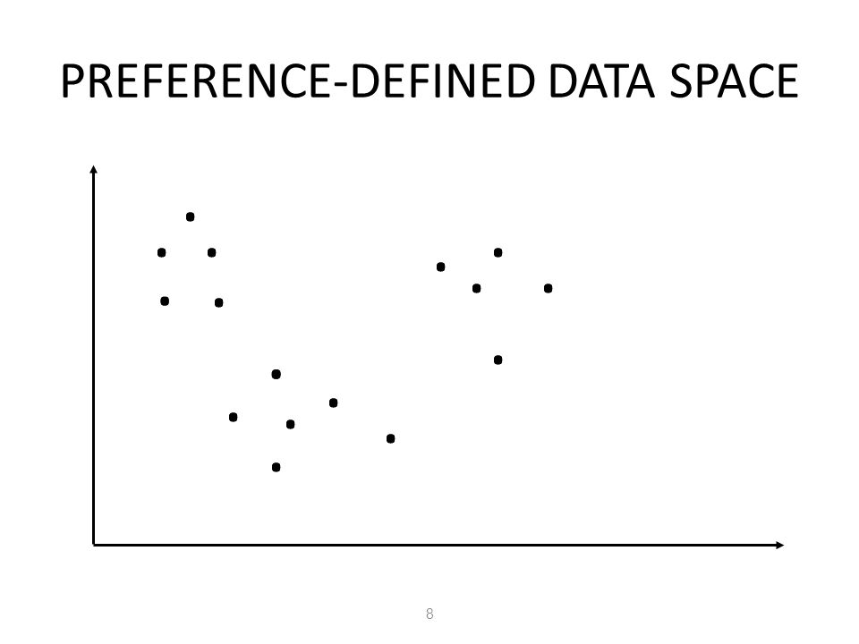 PREFERENCE-DEFINED DATA SPACE