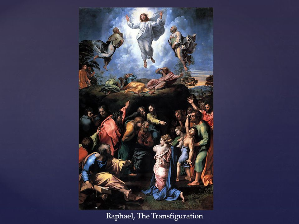 Raphael, The Transfiguration