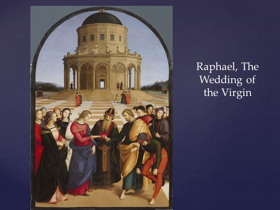Raphael, The Wedding of the Virgin