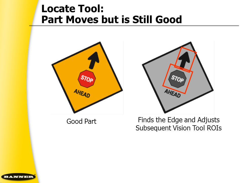 Locate Tool: Part Moves but is Still Good