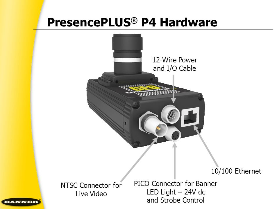 PresencePLUS® P4 Hardware