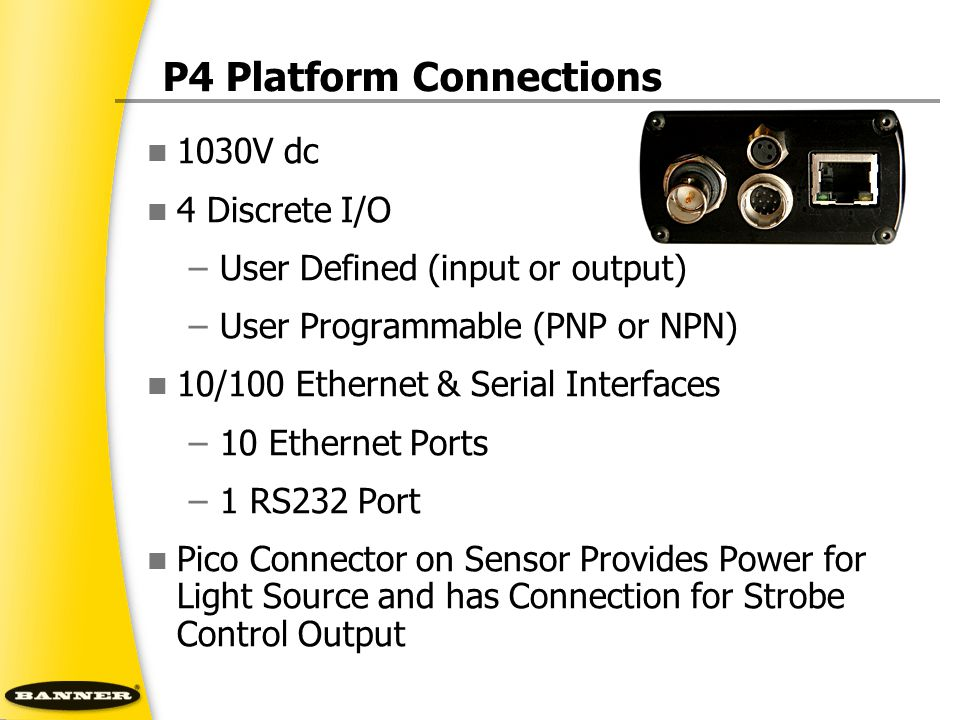 P4 Platform Connections