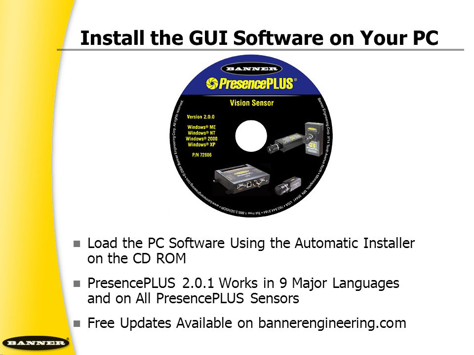 Install the GUI Software on Your PC