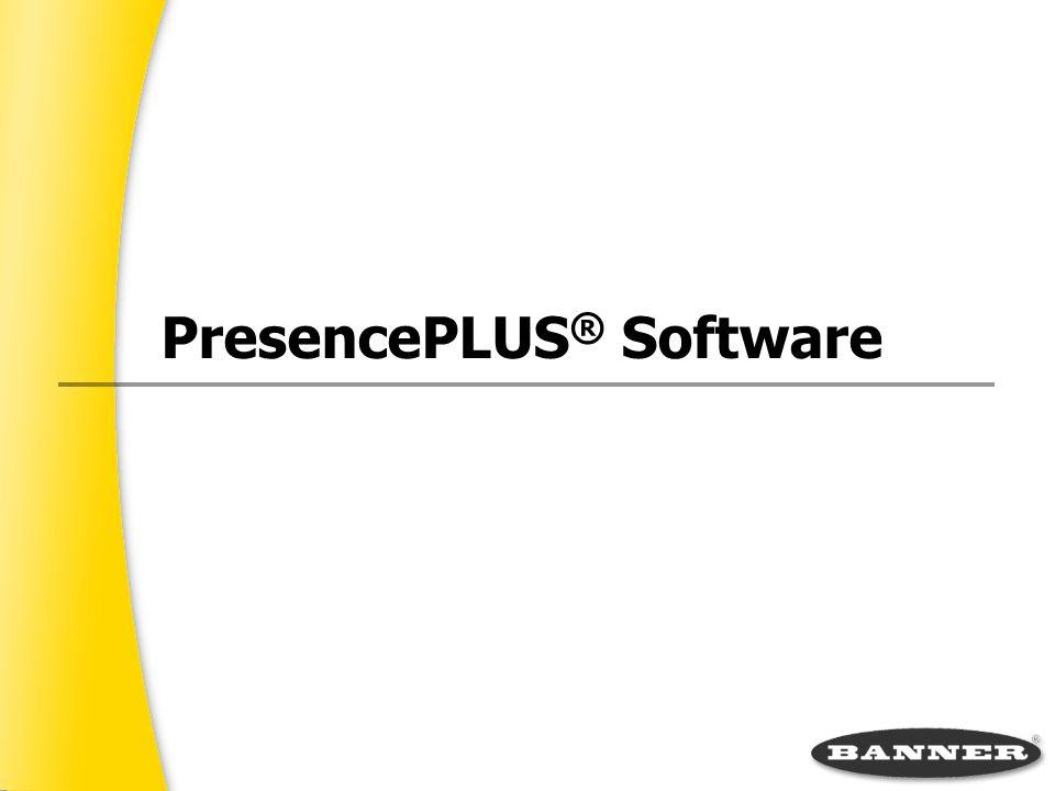 PresencePLUS® Software