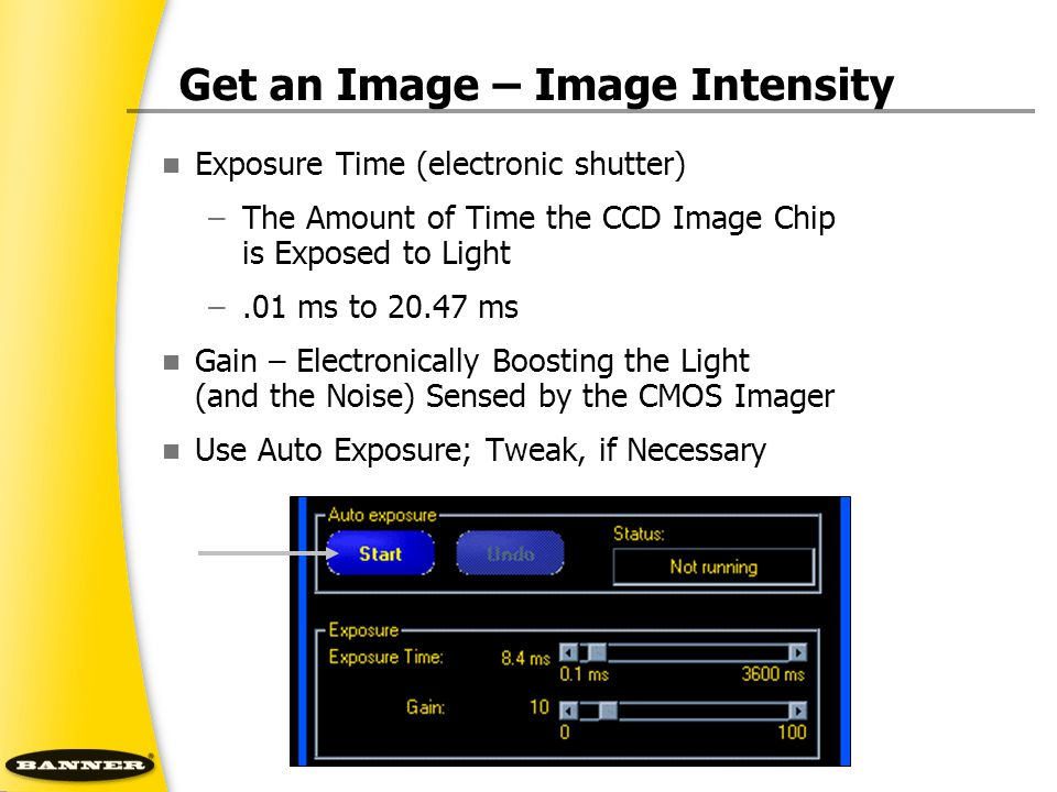 Get an Image – Image Intensity
