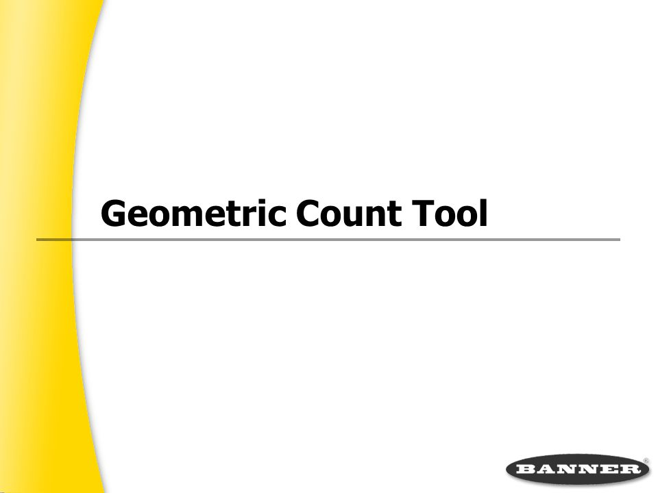 Geometric Count Tool