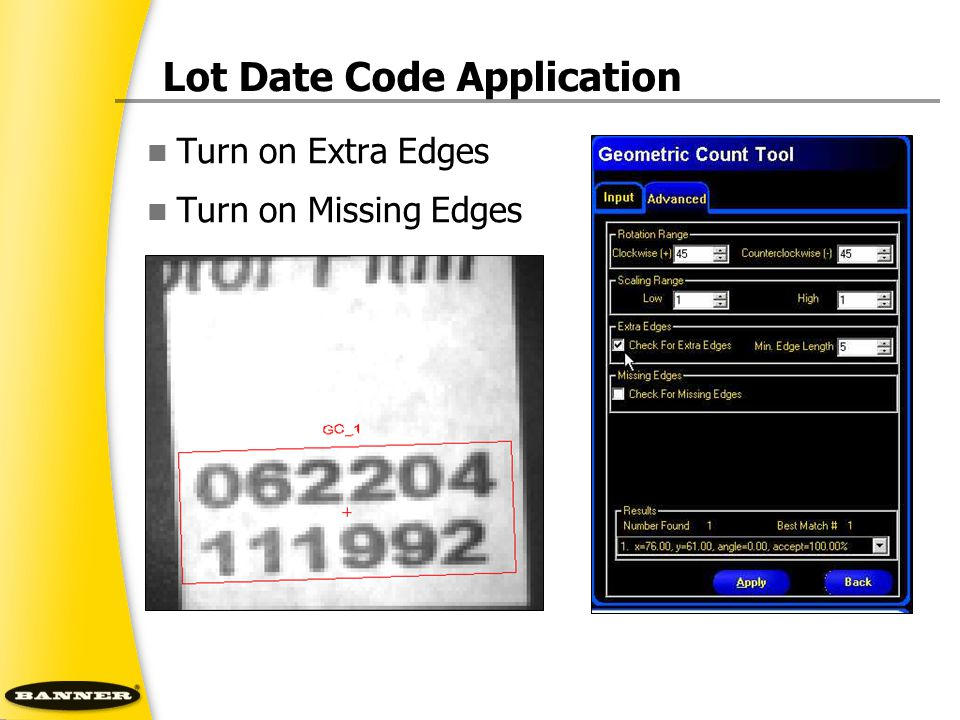 Lot Date Code Application