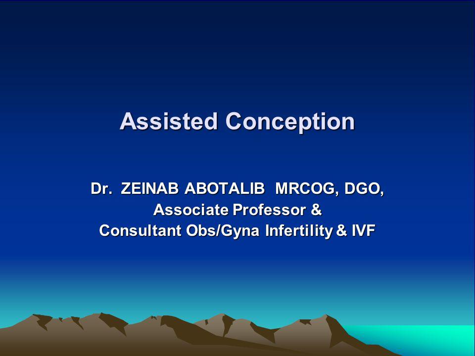 Dr. ZEINAB ABOTALIB MRCOG, DGO, Consultant Obs/Gyna Infertility & IVF