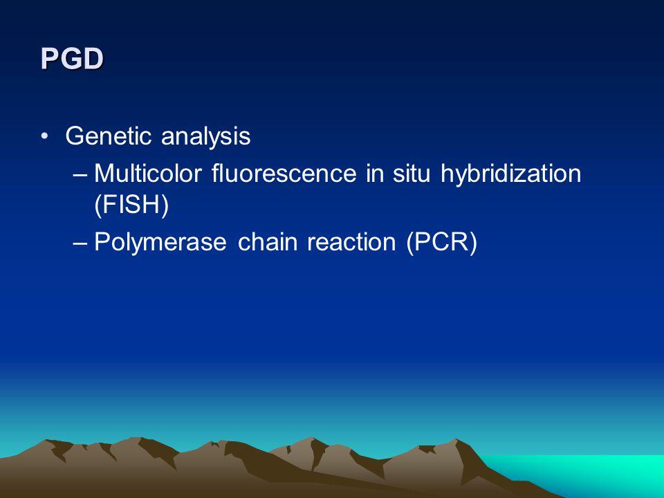 PGD Genetic analysis.