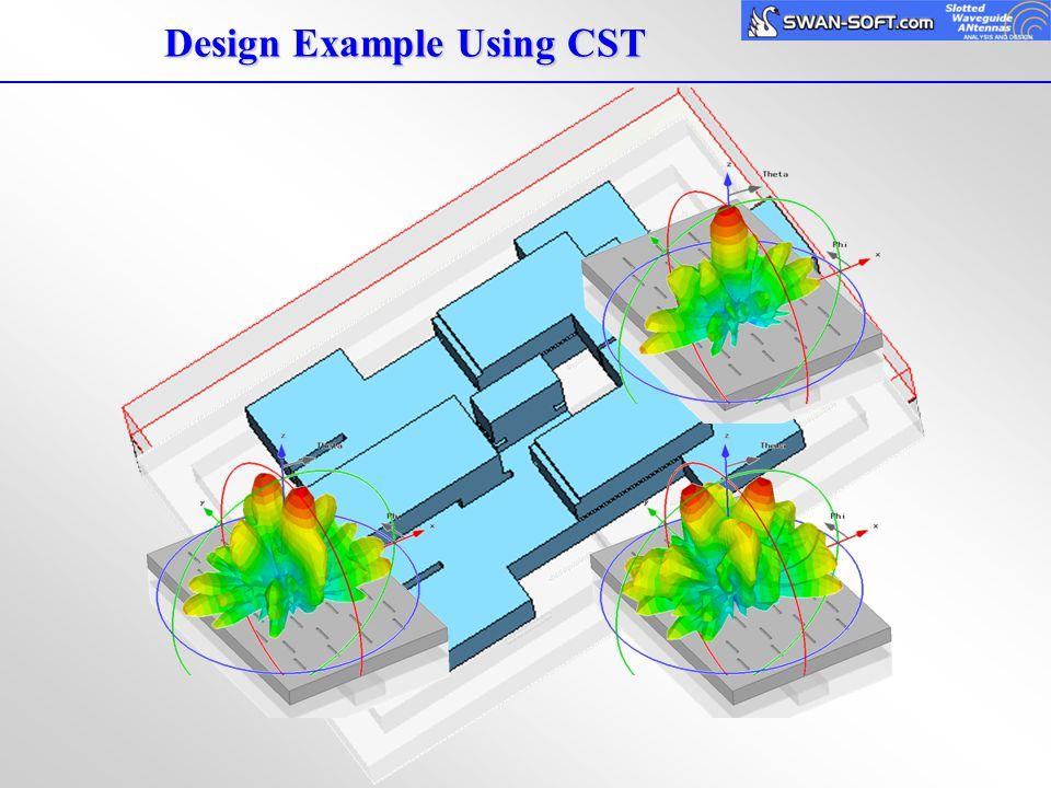 Design Example Using CST