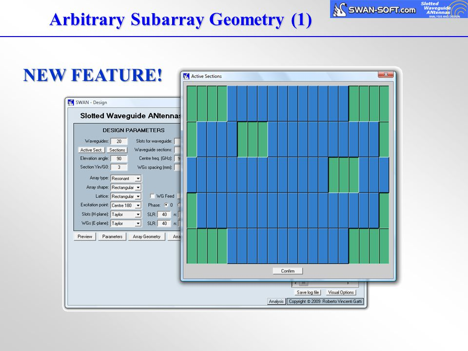 Arbitrary Subarray Geometry (1)