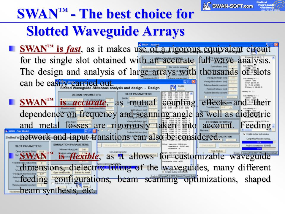 Slotted Waveguide Arrays