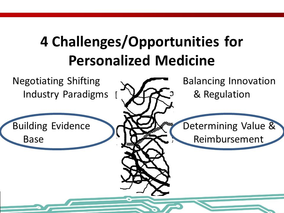 4 Challenges/Opportunities for Personalized Medicine