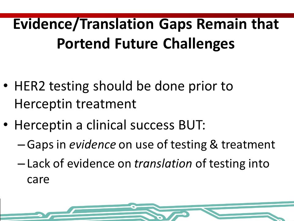 Evidence/Translation Gaps Remain that Portend Future Challenges