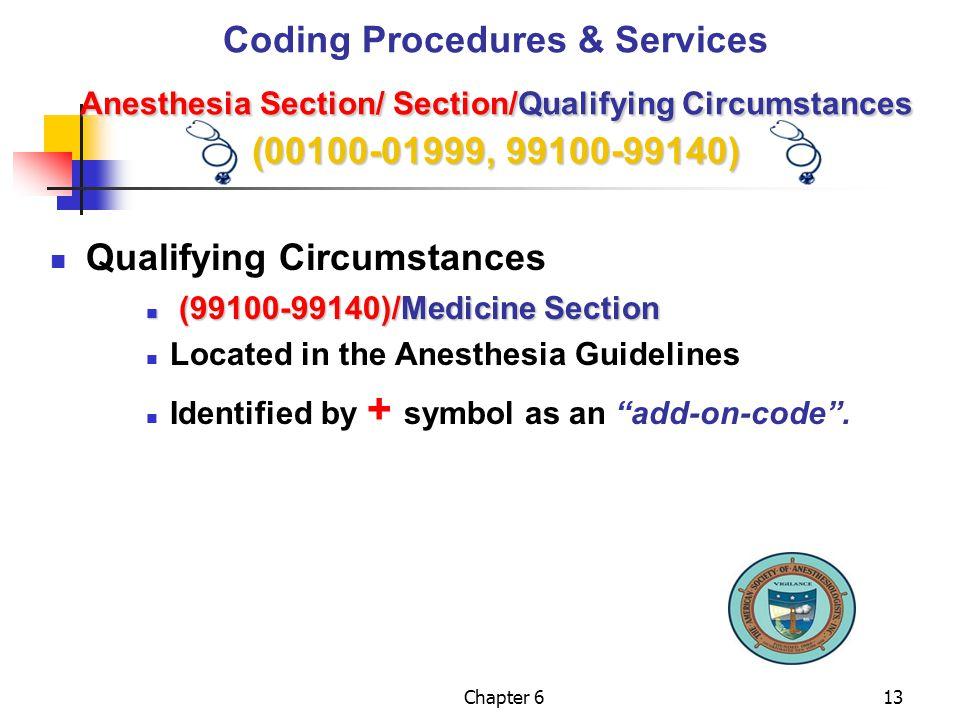 Qualifying Circumstances