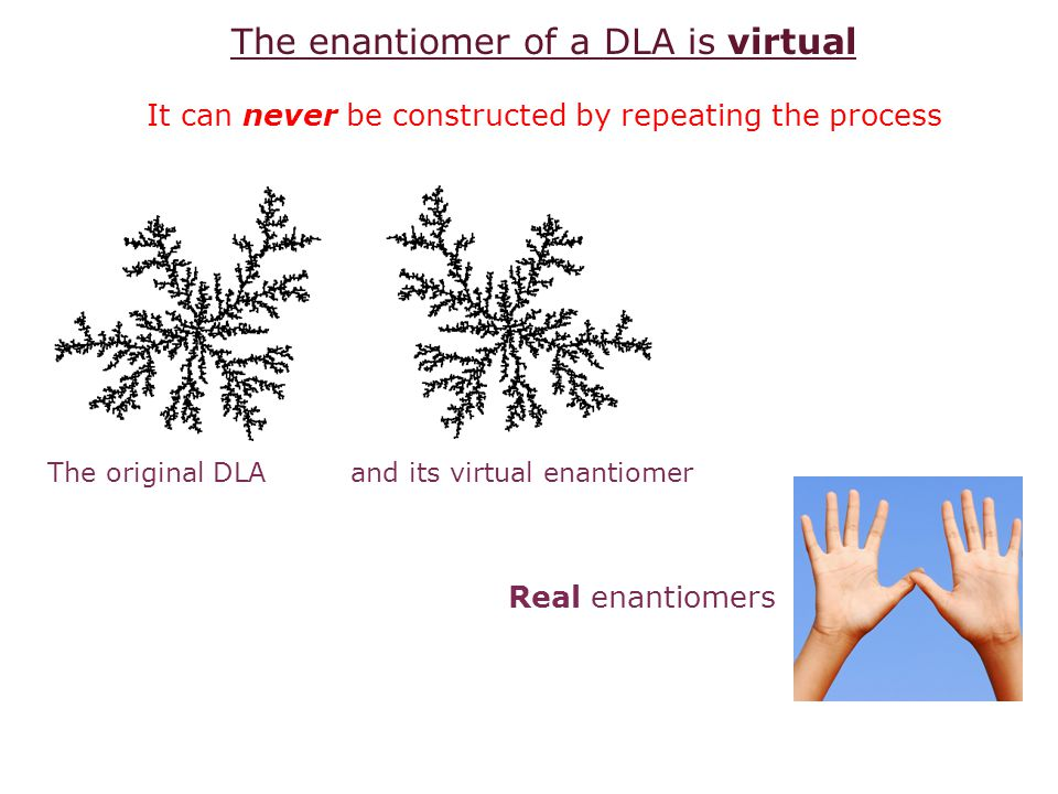 The enantiomer of a DLA is virtual