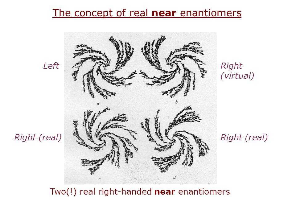 The concept of real near enantiomers