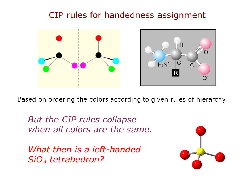 But the CIP rules collapse when all colors are the same.