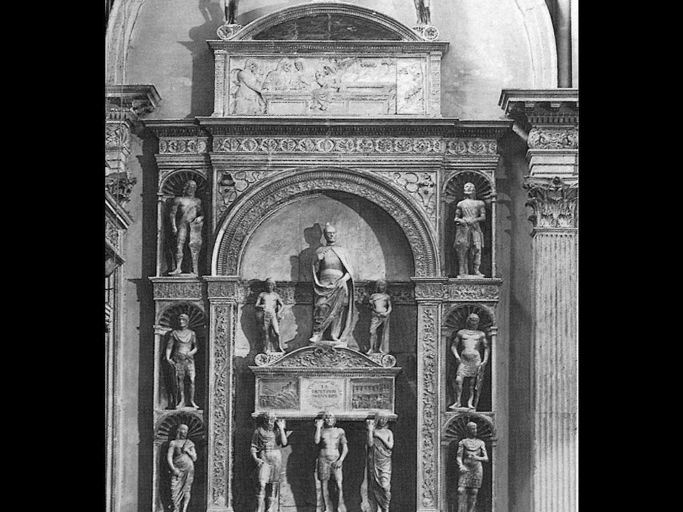 Pietro Lombardo, The Pietro Mocenigo Monument, (marble, ca. , 12