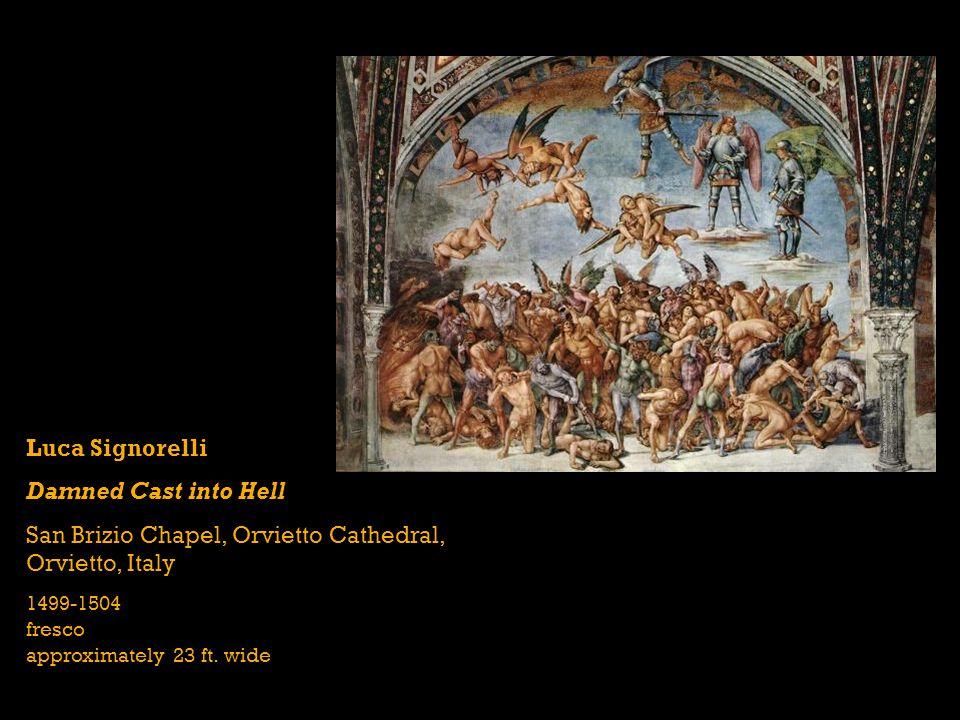 San Brizio Chapel, Orvietto Cathedral, Orvietto, Italy