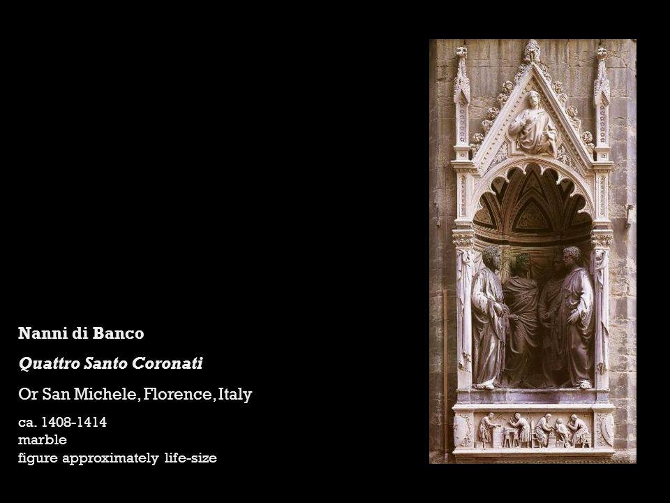 Quattro Santo Coronati Or San Michele, Florence, Italy
