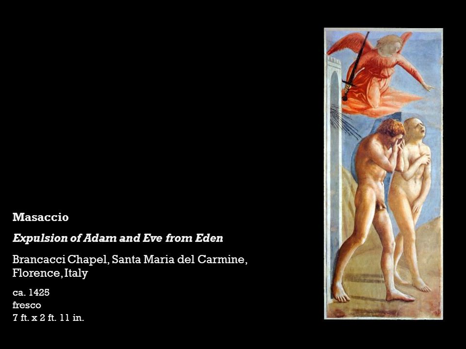 Expulsion of Adam and Eve from Eden