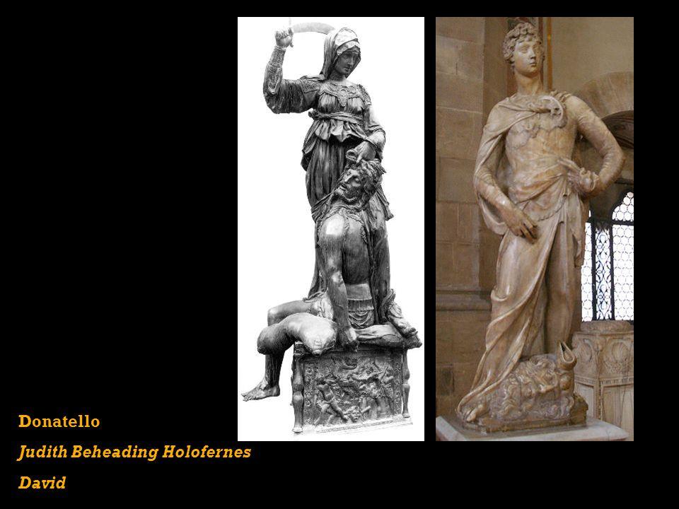 Judith Beheading Holofernes David