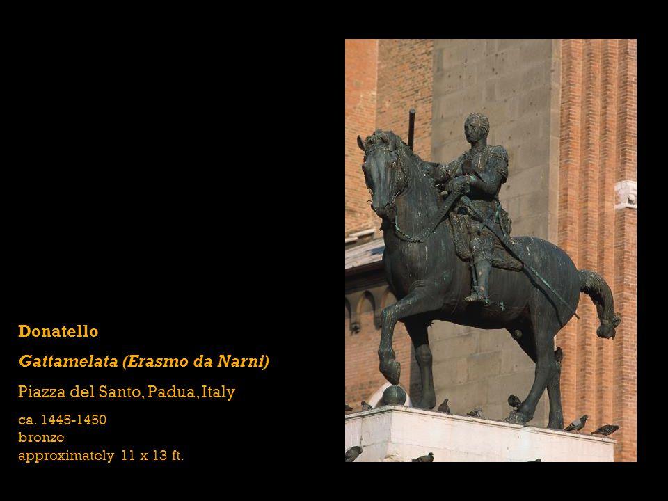 Gattamelata (Erasmo da Narni) Piazza del Santo, Padua, Italy