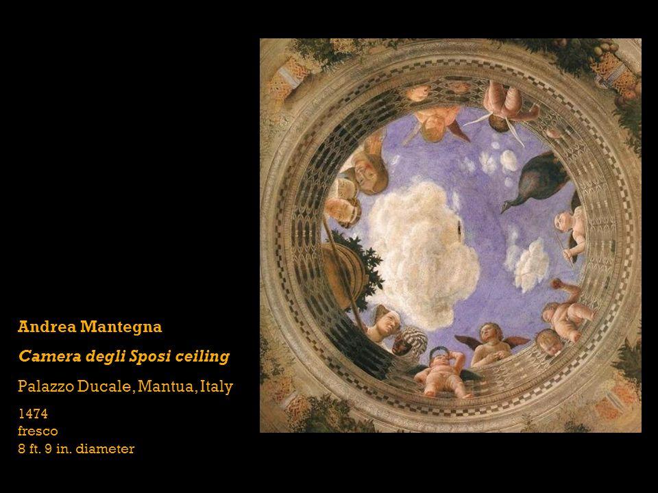 Camera degli Sposi ceiling Palazzo Ducale, Mantua, Italy