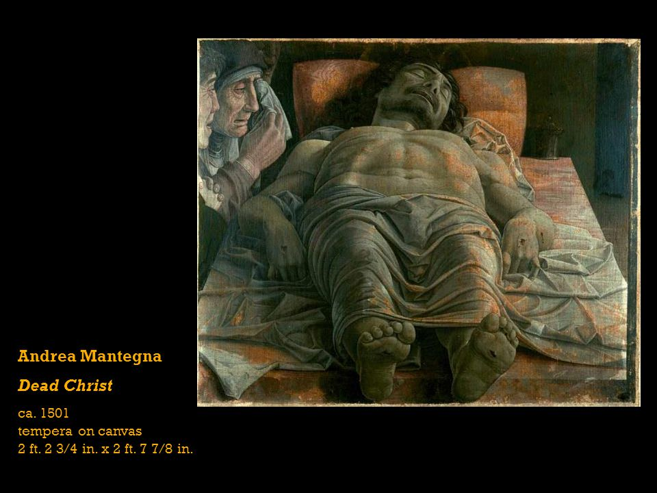 Andrea Mantegna Dead Christ