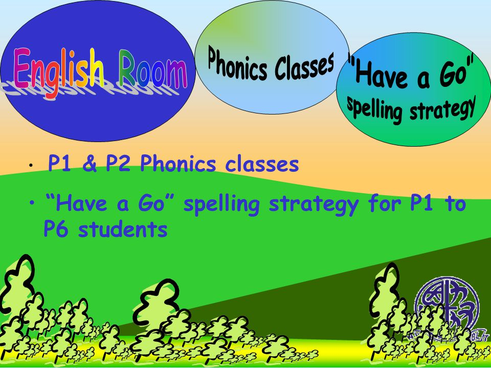 Phonics Classes English Room Have a Go spelling strategy