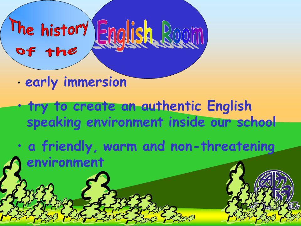 The history English Room of the
