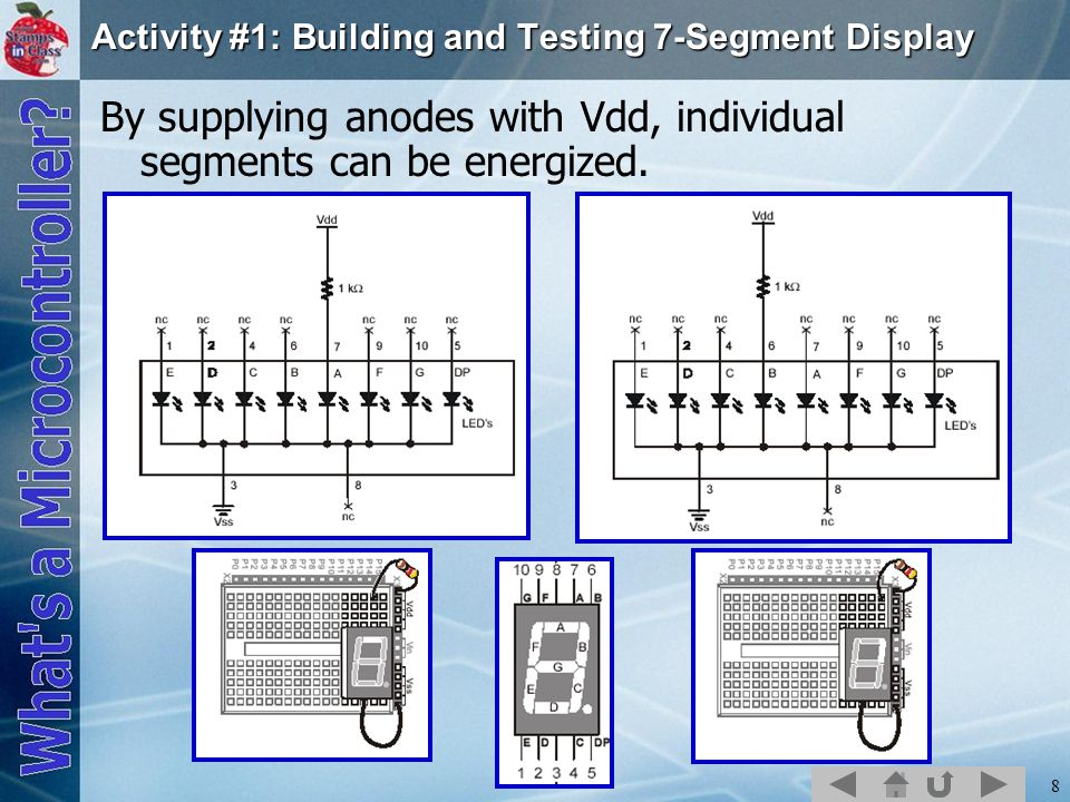 Activity #1: Building and Testing 7-Segment Display