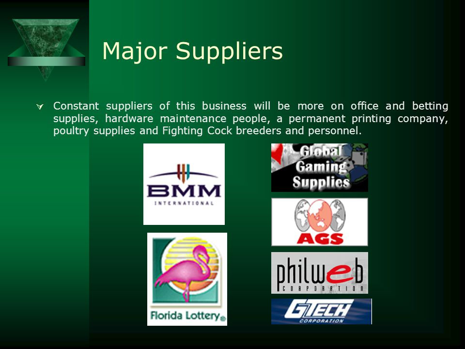 Major Suppliers