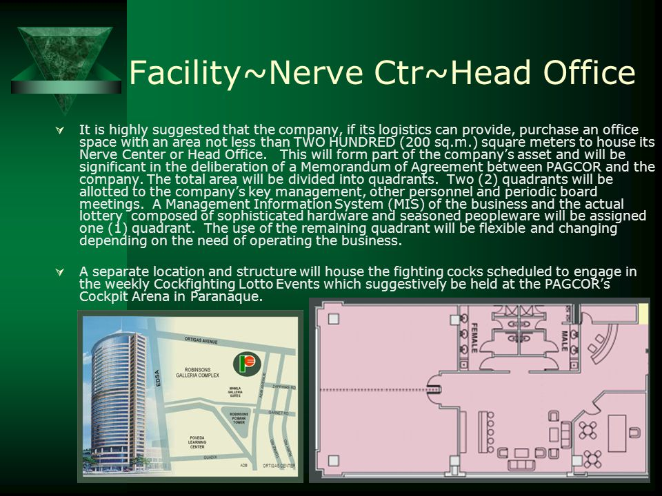 Facility~Nerve Ctr~Head Office