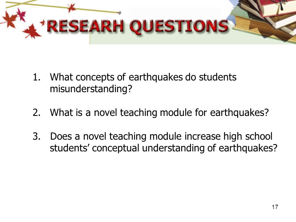 What concepts of earthquakes do students misunderstanding