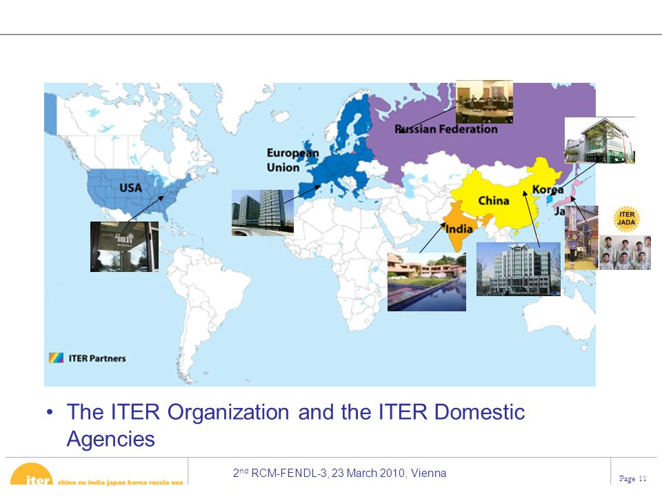 The ITER Organization and the ITER Domestic Agencies
