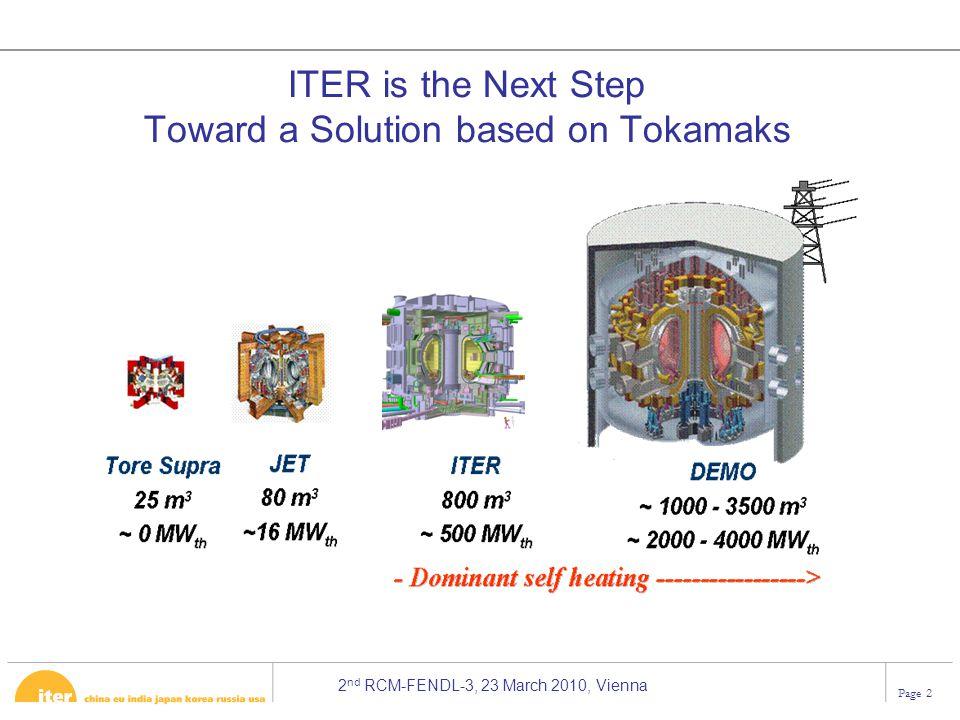 Toward a Solution based on Tokamaks
