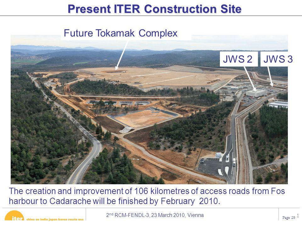 Present ITER Construction Site