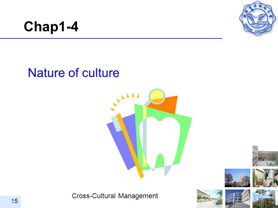 Chap1-4 Nature of culture