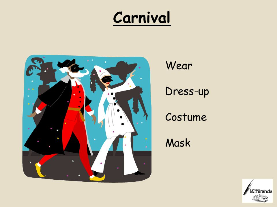 Carnival Wear Dress-up Costume Mask