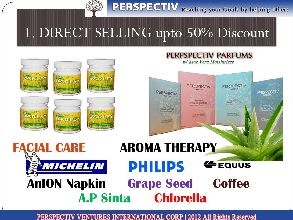 1. DIRECT SELLING upto 50% Discount