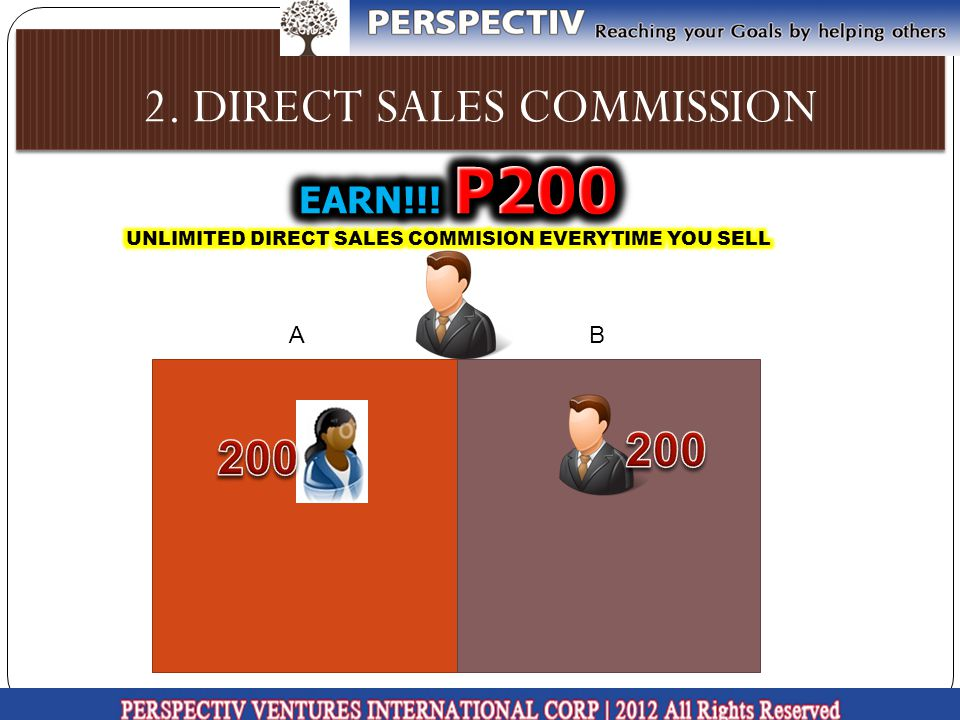 2. DIRECT SALES COMMISSION