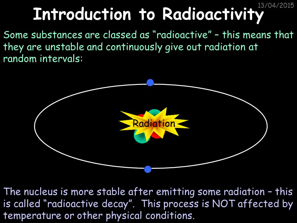 Introduction to Radioactivity