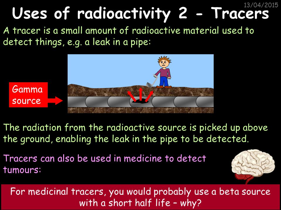 Uses of radioactivity 2 - Tracers