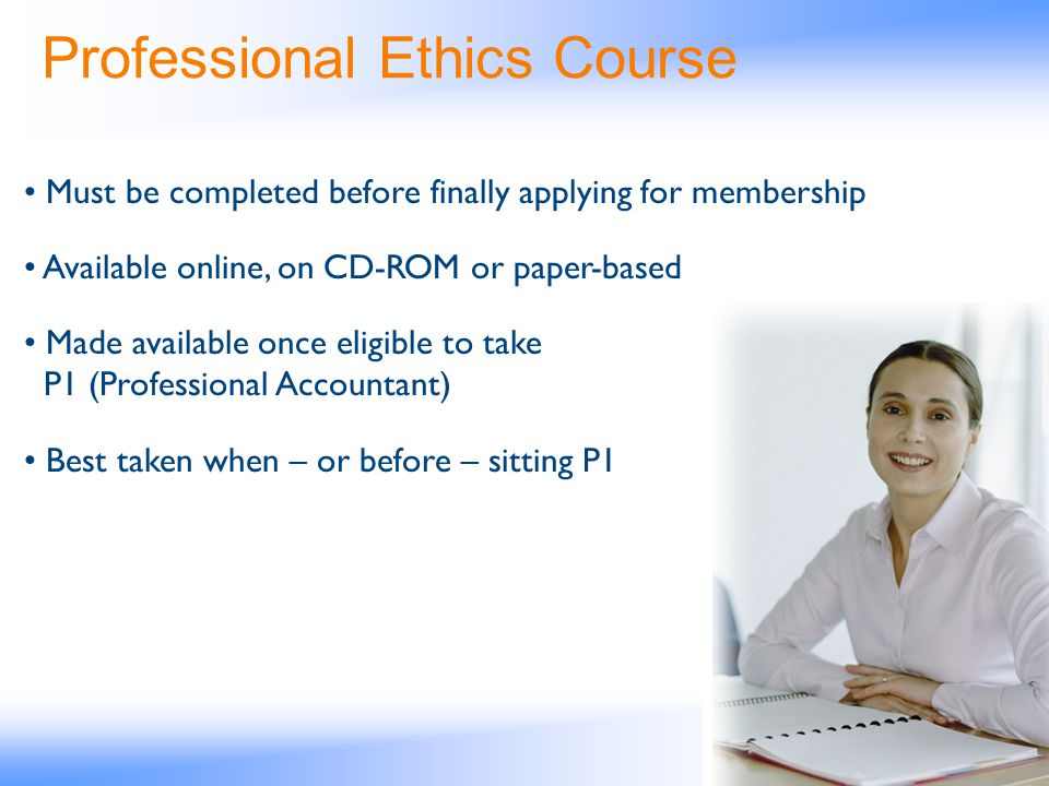 Professional Ethics Course
