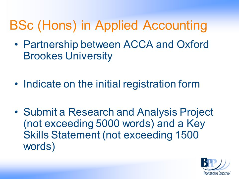 acca bsc thesis If you are looking for acca bsc honors thesis (oxford brookes), oxford brookes university thesis,oxford brookes bsc rap/ oxford brookes bsc rap and sls/ acca oxford brookes university bsc honors research and analysis project/ acca bsc.