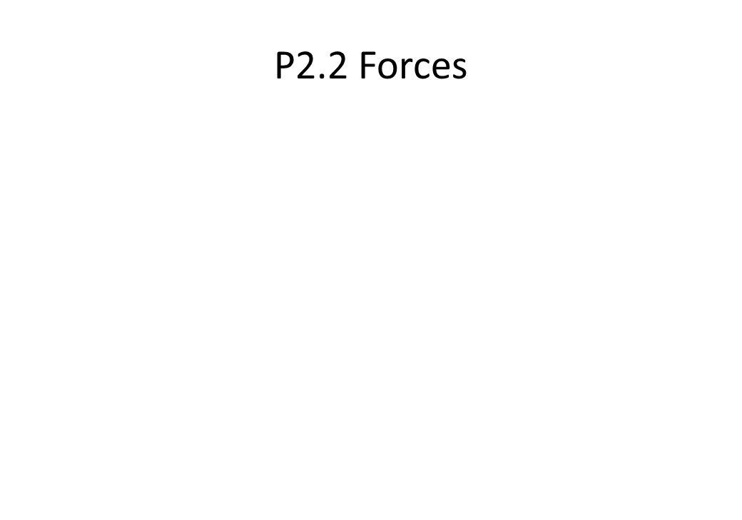 P2.2 Forces