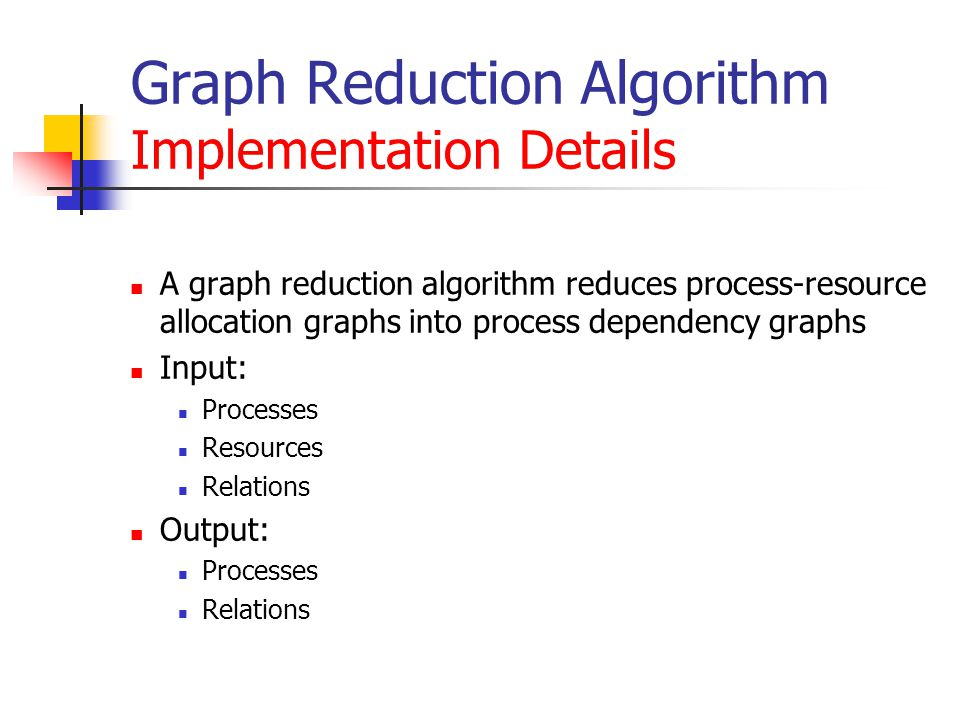 Graph Reduction Algorithm Implementation Details